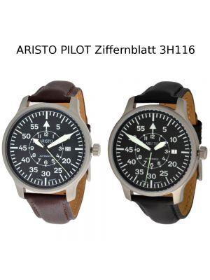 ARISTO Automatikuhr Pilot Ziffernblatt 3H116