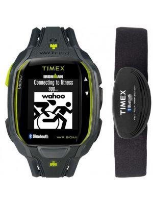 TIMEX Unisex Smart Watch TW5K88000H4 Kunststoff Kautschuk Indiglo
