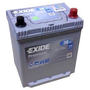 EXIDE PREMIUM Batterien Japan Typen
