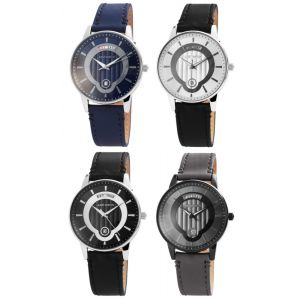 Just Herren Quarz Armbanduhr Modellreihe JW20018 Edelstahl Leder