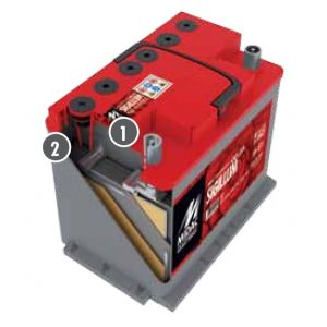 MIDAC SIGILLUM Starterbatterien